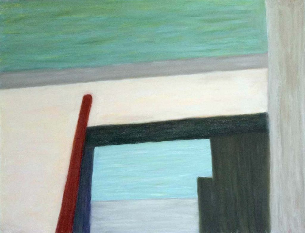 george pastel-swimming pool abstract