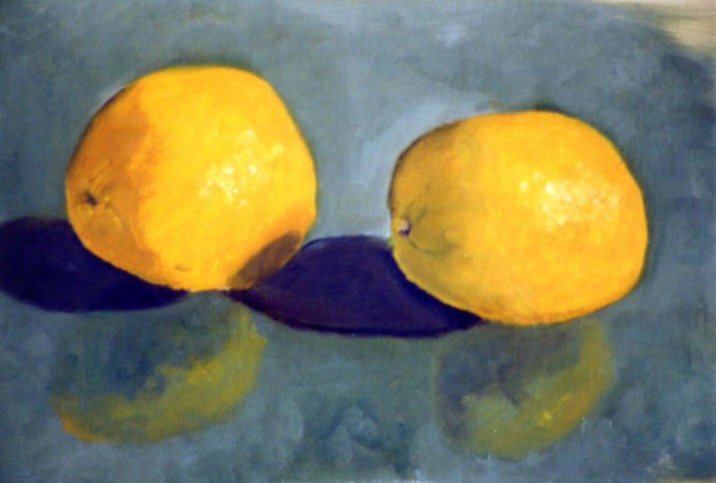 Ilyas Ilya two lemons in oil