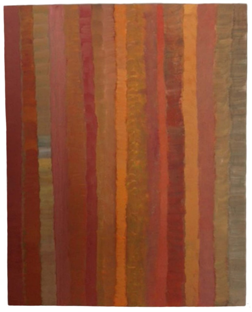 Paul Zuckerman-abstract stripes